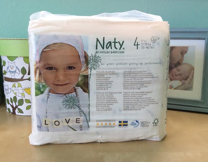 Naty Organic Diapers Eco Nappies